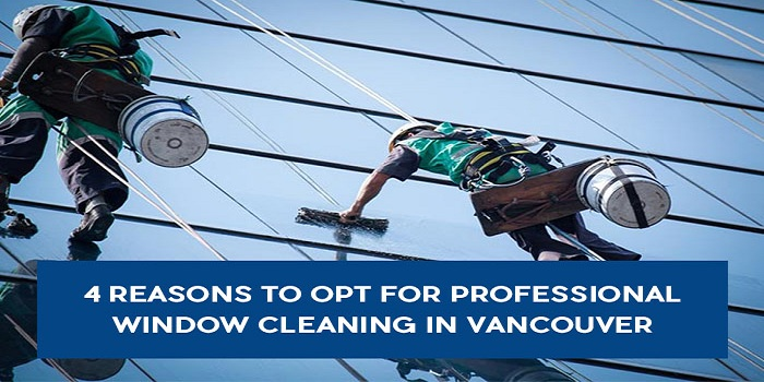 4 Reasons to Opt for Professional Window Cleaning in Vancouver